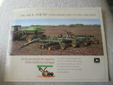 1996 John Deere 1850 No Till Air Drill Brochure