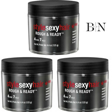 SEXY HAIR Style - Rough & Ready 125ml PACK OF 3
