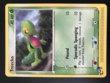 PA064 CARTE POKEMON CARD TREECKO 016 Nintendo Black Star Promo 16 NON HOLO