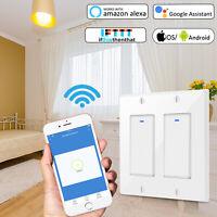 Smart Switch Wall Light WIFI Remote Alexa Google Home IFTTT Control Smart Life