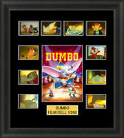 Disney Dumbo 1941 Framed 35mm Film Cell Memorabilia Filmcells Movie Cell