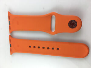 Original Genuine Apple watch Series 6 5 4 3 2 Hermes Sport Band 38mm 40mm Orange