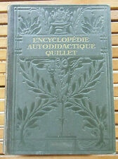 ENCYCLOPEDIE AUTODIDACTIQUE QUILLET Tome 2  /1932