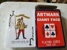 vintage deck of Amtrak Playing Cards, unused, new, cellophane wrap has a tear