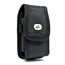 Vertical Heavy Duty Rugged Belt Clip Case Pouch For Samsung Rugby III SGH-A997