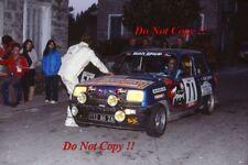 Jean-Charles Bassoul Renault 5 Alpine Tour de Corse Rally 1978 Photograph 1