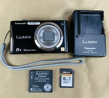 Panasonic LUMIX DMC-FH24 16.1MP Digital Camera - Black With Accessories. Tested.