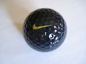 New Nike One Black on Black BOB Golf Ball Limited Edition # 1