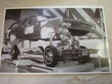 1966 CHEVROLET CHEVELLE WAGON SHOW DISPLAY BODY CHASSIS  11 X 17  PHOTO  PICTURE