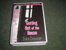 GETTING OUT OF THE HOUSE by ISLA DEWAR 12 CASSETTES AUDIO BOOK 14 HOURS LONG