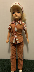 """Rare McDonald's Uniform Vintage Sindy Doll 11"""" Made for 1982 Convention"""