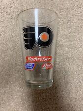 philadelphia flyers Budweiser Glass