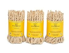 Himalayan Cedar Rope Incense Hand- Made 3 Bundle -each Bundle Contains 45 ropes