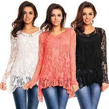 Damenblusen, - tops & -shirts im Tunika-Stil mit Neckholder für Party-Anlässe