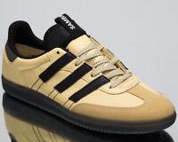 adidas Originals Samba OG MS Men's New Yellow Black Lifestyle Sneakers BD7541