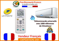 Télécommande climatiseur universelle 1000 en 1 K-1028E Mitsubishi Aux Zenith LG