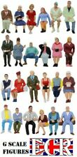 3 RANDOM FIGURES MEN & WOMEN G SCALE 1/22.5 PEOPLE GARDEN TRACK RAILWAY TRAIN