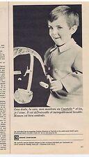 PUBLICITE ADVERTISING 104 1965 COURTAULDS vêtements enfants
