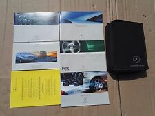 MERCEDES C CLASS COUPE W203 CL203 OWNERS MANUAL HANDBOOK SET & WALLET