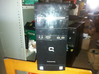 COMPAQ PC WIN 10 DDR2 2GB RAM Intel Celeron 100 GB HD (507)