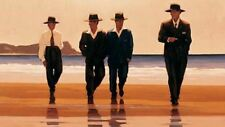 Jack Vettriano greeting card - The Billy Boys