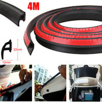 4M P-Shape Type Moulding Trim Rubber Strip Car Door Edge Seal Weather-strip