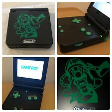 NINTENDO Luigi's Mansion GAMEBOY ADVANCE SP GBA SP SYSTEM AGS 101 CUSTOM