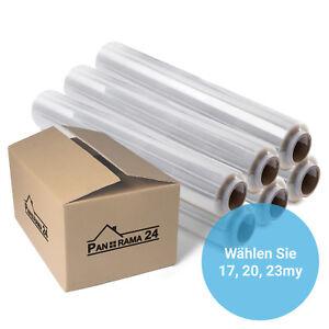 Stretchfolie Palettenfolie Wickelfolie Strechfolie Verpackungsfolie 500 x 300m