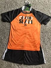 Rbx Boys Orange Gray 2 Piece Outfit Size 5/6 Nwt!