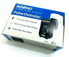 Renpho Portable Pulse Oximeter Accurate Reading Pediatric Amp Adult Oxygen Monitor