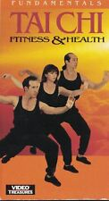 Tai Chi For Fitness Health: Fundamentals VHS, 1993