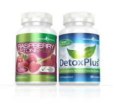 CHETONE DEL LAMPONE Plus & Detox pulizia colon PILLOLE 1 mese EVOLUTION Slimming
