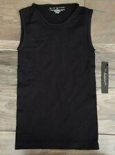 Elie Tahari Womens Black Tank Top Size S Nylon Spandex Blend RN 50801