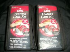 (2) Kiwi Leather Care Kits BRAND NEW, free fast shipping