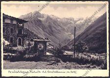 BRESCIA PONTE DI LEGNO 63 CASTELLACCIO Cartolina viaggiata 1936 Foto MICHELETTI