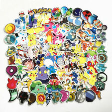 93PCS/lot Pokemon Sticker Sun Moon Mimikyu Pikachu Bulbasaur Stickers Anime