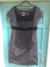 Christian Lacroix Pour La Redoute Women's Little Black Dress Cocktail Lace 12/16