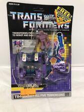 Vintage Hasbro Transformers Original G1 Terrorcon Blot robot Opened Bubble
