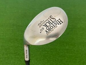 Moe Norman HISTORY STICK WEDGE 60* by Natural Golf Left Handed Graphite Regular
