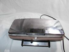 Vintage 60's Sunbeam Chrome Waffle Baker and Grill