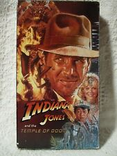 VHS Movie INDIANA JONES AND THE TEMPLE OF DOOM video