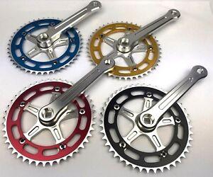 ProBMX BMX 3 Piece Aluminium Cranks Set - Old School BMX Style Modern Quality