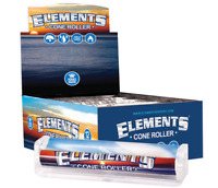 Elements Rolling Papers Brand CONE Roller Machine King Size 110mm w/instructions