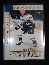 Tom Chorske 1998 Pinnacle Be A Player Autograph