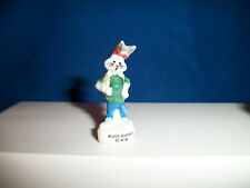 BUGS BUNNY Mini Figurine Urban Fashion Jeans Backpack LOONEY TUNES French FEVES