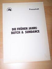 Los primeros años-Butch & Sundance – prensa cuaderno'79-Tom Berenger William Neptune