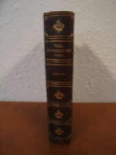 Antique 19th Century The Descent of Man & Selection in Relation to Sex by Darwin