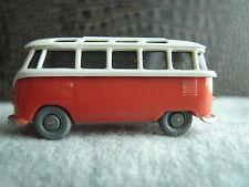 Wiking VW Sonderbus Bulli, Samba Bus,T1 Panorama Bus 317/1 braunweiß/ rose