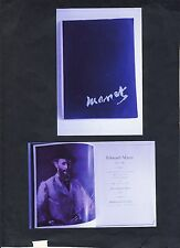 EDOUARD MANET Exhibition 1937 Softcover