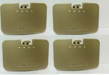 4X NEW GOLD Memory Expansion Jumper Pack Cover Lid for Nintendo 64 N64 F5